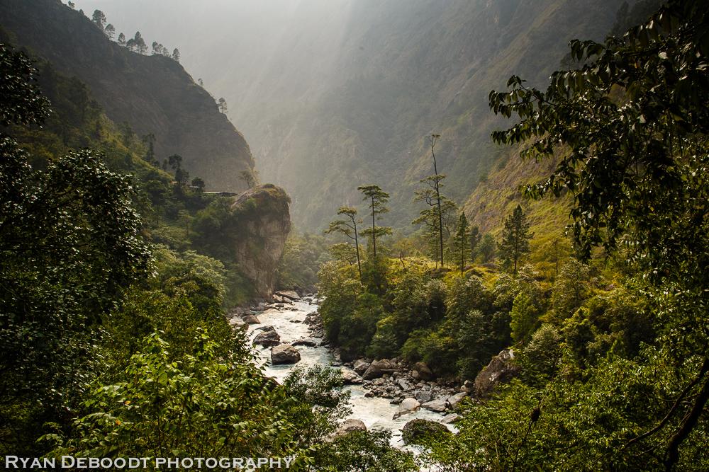 Manaslu Trek scenery