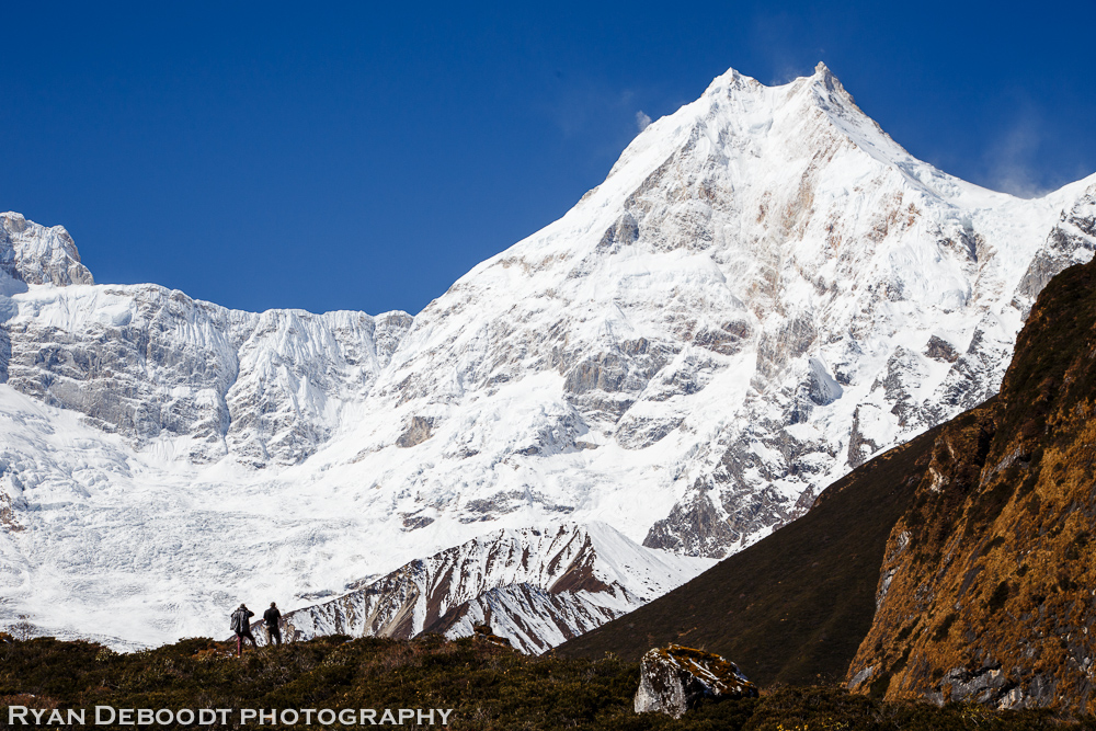 We took a rest day in Samagoan to hike up and get a great view of Manaslu. It was worth it!
