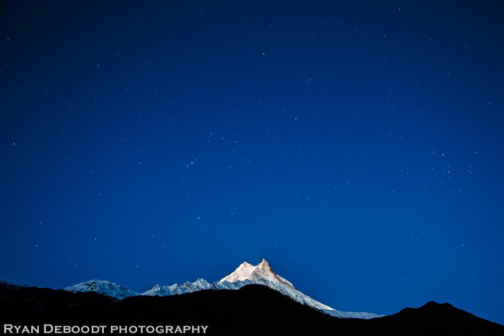 Stars over Manaslu
